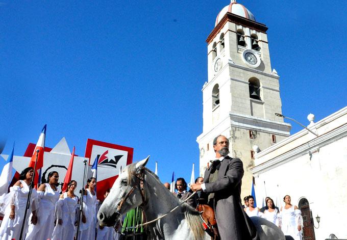Cubanos reafirman su compromiso con la Patria y el Himno