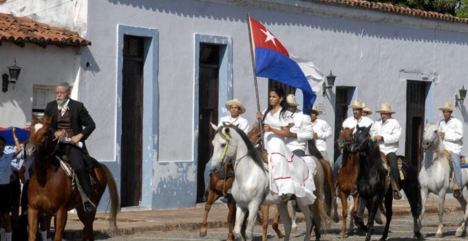 Cuba marks anniversary of National Anthem