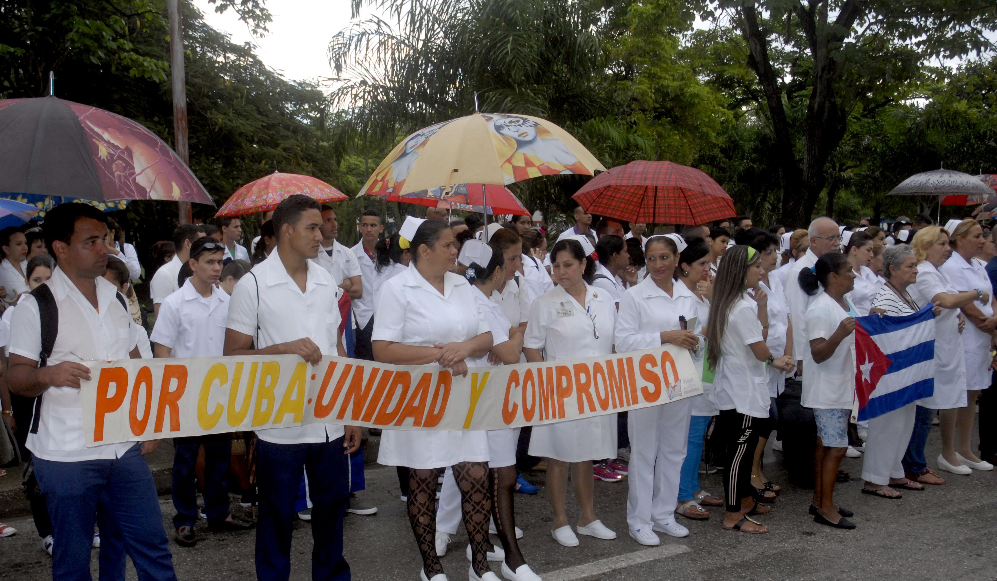 NO al bloqueo económico, comercial y financiero impuesto a Cuba
