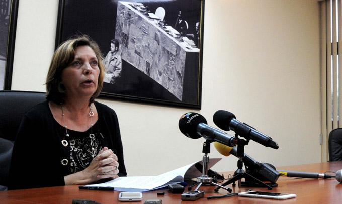Josefina Vidal: directiva de Obama es un paso significativo