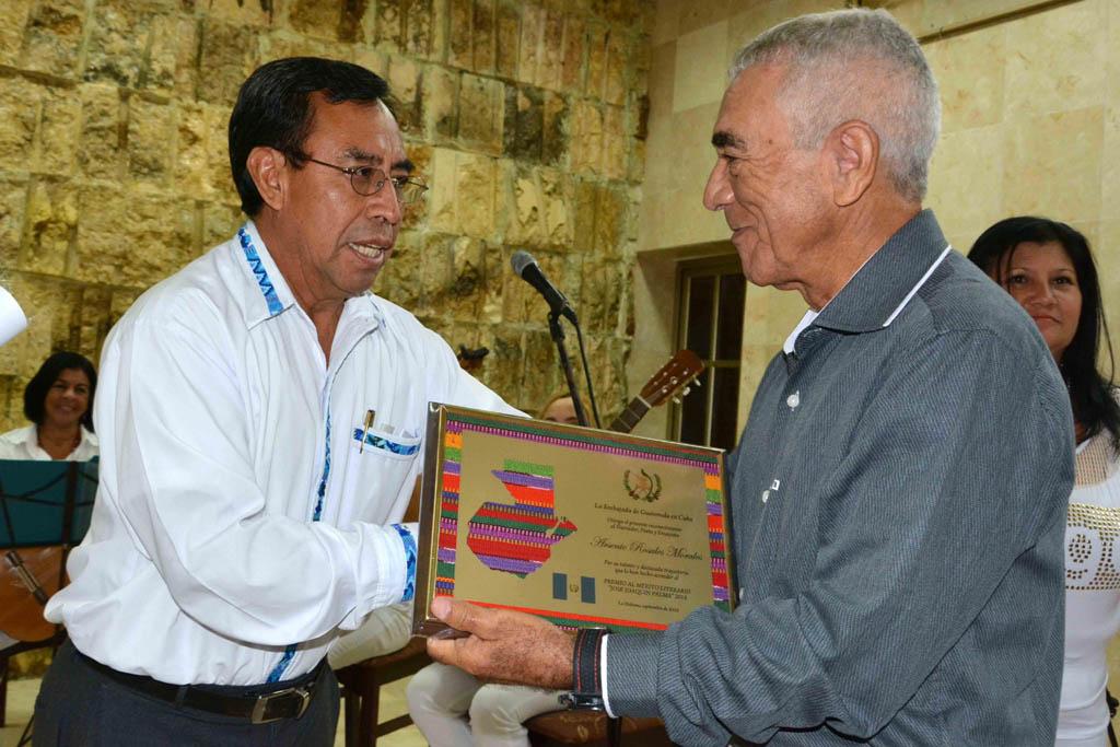 Entregan Premio al Mérito Literario José Joaquín Palma 2016 (+ fotos y videos)