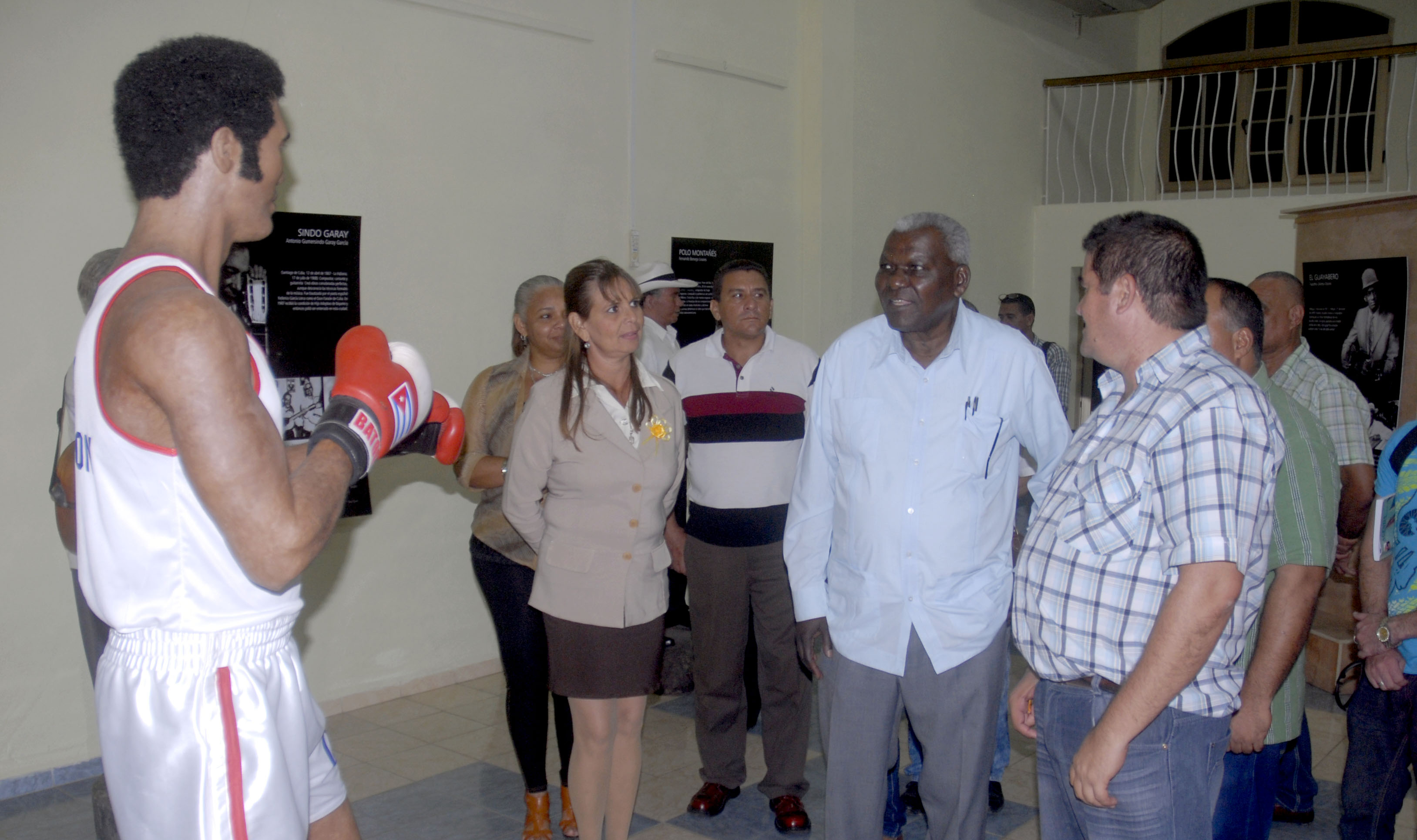 Esteban Lazo elogia al Museo de Cera de  Cuba