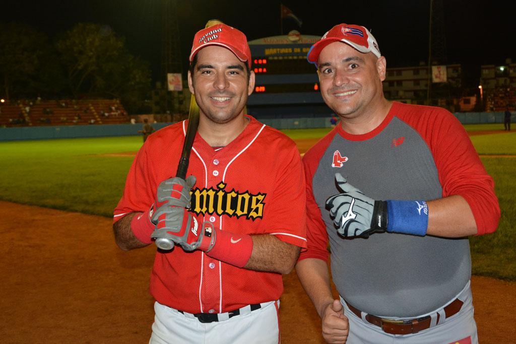 Luis Silva (Pánfilo) y  Andy Vázquez (Facundo )