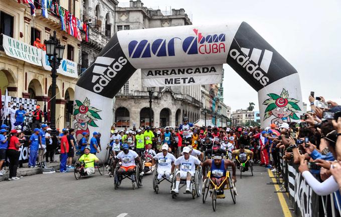 Más de cuatro mil corredores a maratón en Cuba