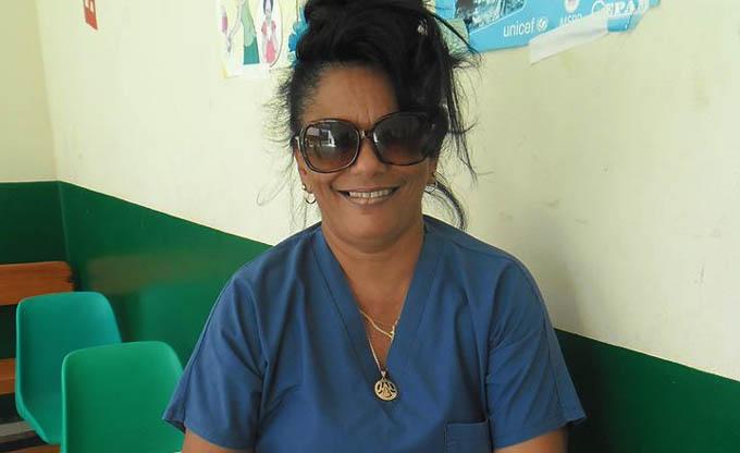 Bien y en lugares seguros colaboradores granmenses de la salud en Haití