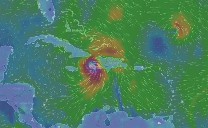 Matthew azota a Haití (Aviso Nro 25, 6:00 am)