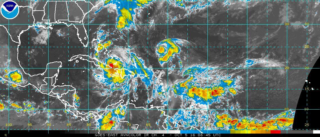 Matthew se mueve al norte de la región oriental de Cuba (Aviso Nro 32, 6:00 am)