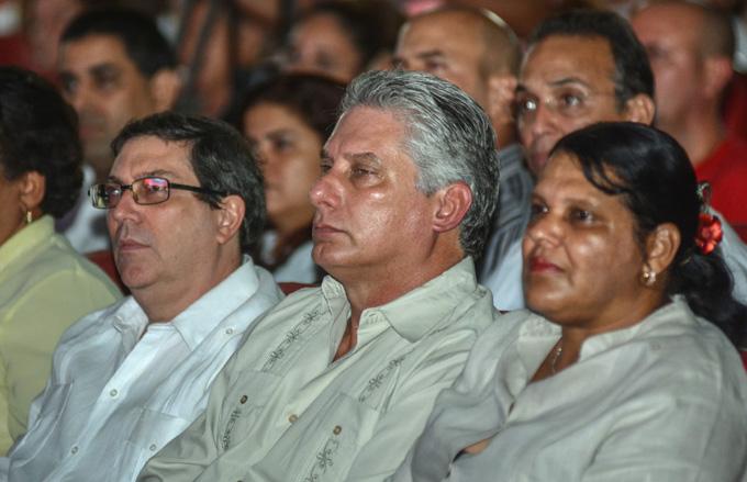 CUBA-LA HABANA-REALIZAN ACTO POR EL DÍA DE LAS VÍCTIMAS DEL TERRORISMO Y ANIVERSARIO 40 DEL CRIMEN DE BARBADOS