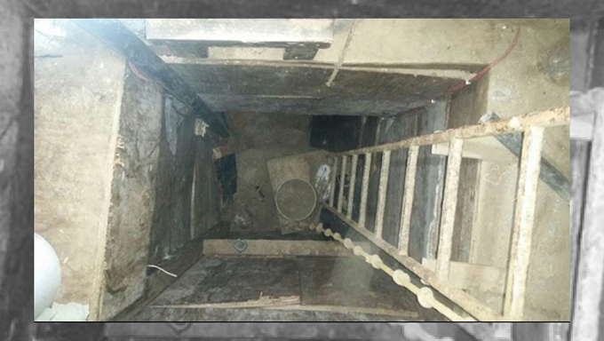 Narco tunel méxico