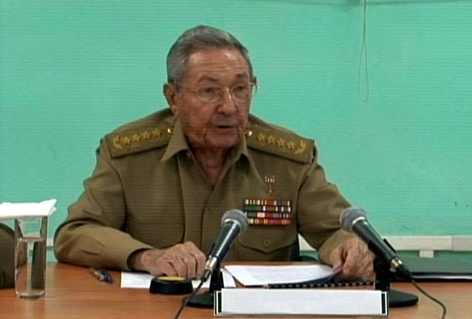 Raúl Castro Ruz, en Santiago de Cuba