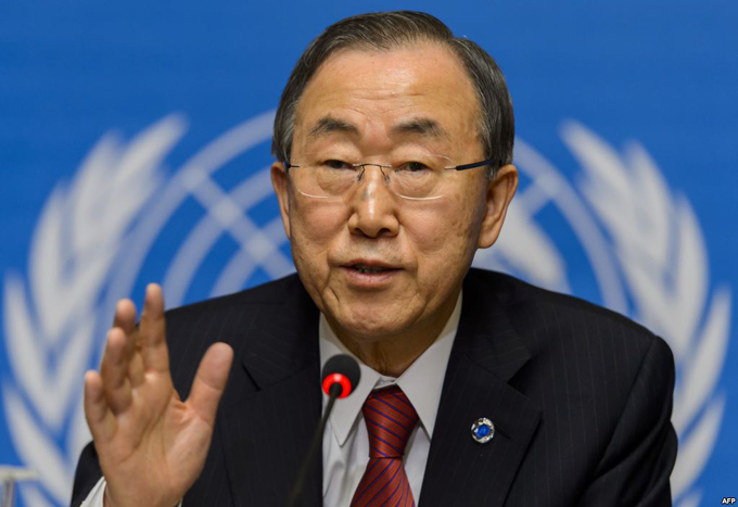 Ban Ki-moon se solidariza con caribeños tras paso de Matthew