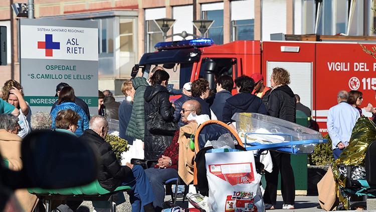Un fuerte terremoto de magnitud 6,6 sacude el centro de Italia