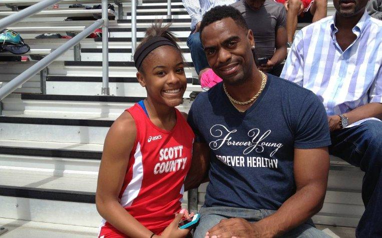 Hija del velocista estadounidense Tyson Gay muere tras tiroteo