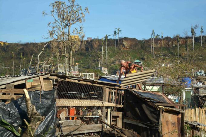 Más de nueve mil viviendas afectó Matthev en Baracoa
