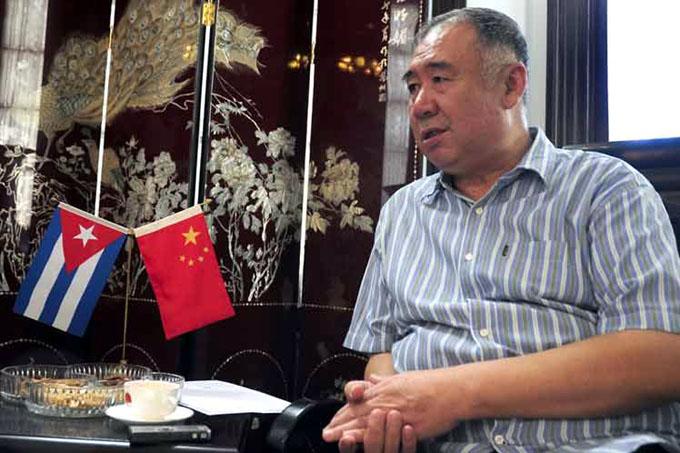 Confiere Cuba medalla de la Amistad a embajador chino
