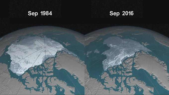 Desaparece hielo marino más antiguo del Ártico
