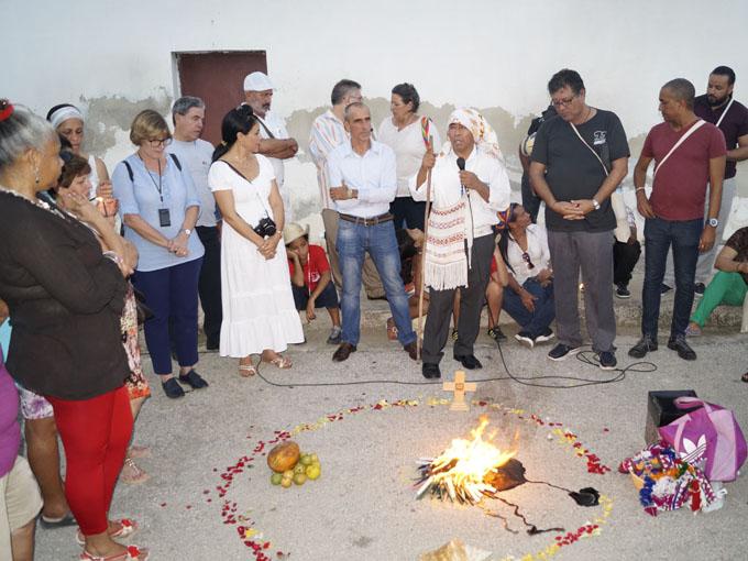 Celebran ceremonia Maya en la Fiesta de la Cubanía (+ videos)