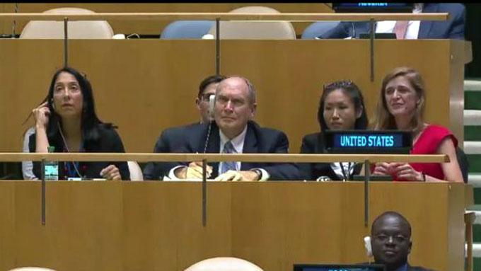 EEUU se abstiene en ONU por primera vez de votar a favor de su política