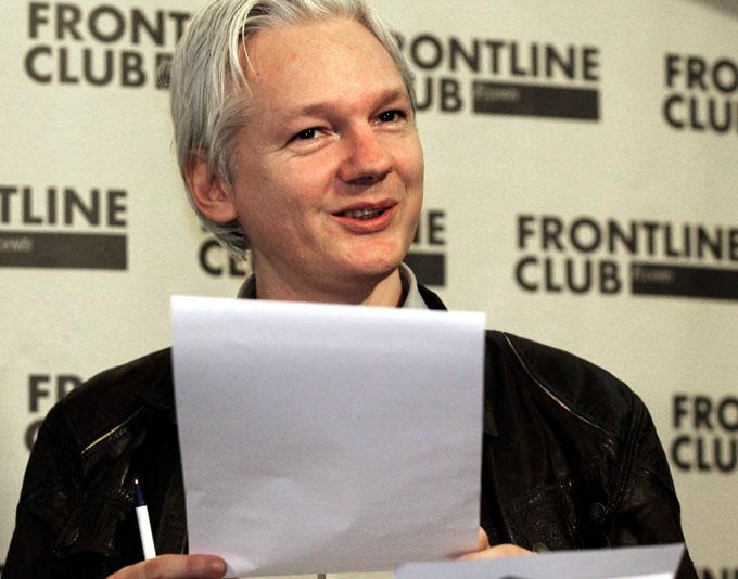 Fundador de Wikileaks revela planes de EE.UU. contra Siria