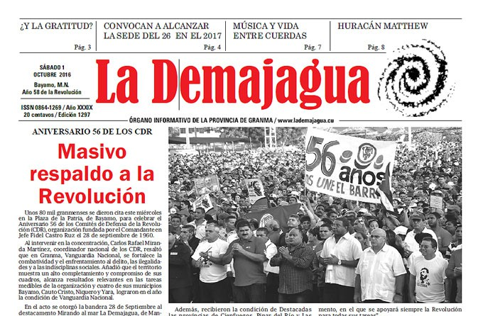 ok periódico La Demajagua