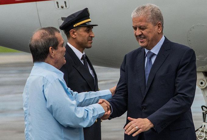 En Cuba Primer Ministro de Argelia para estrechar las relaciones