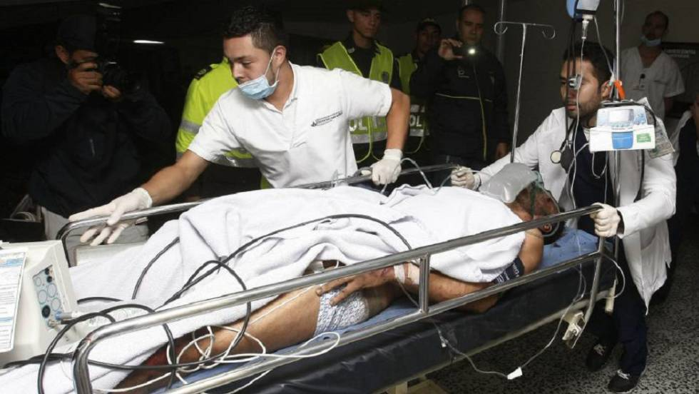 Accidente Colombia