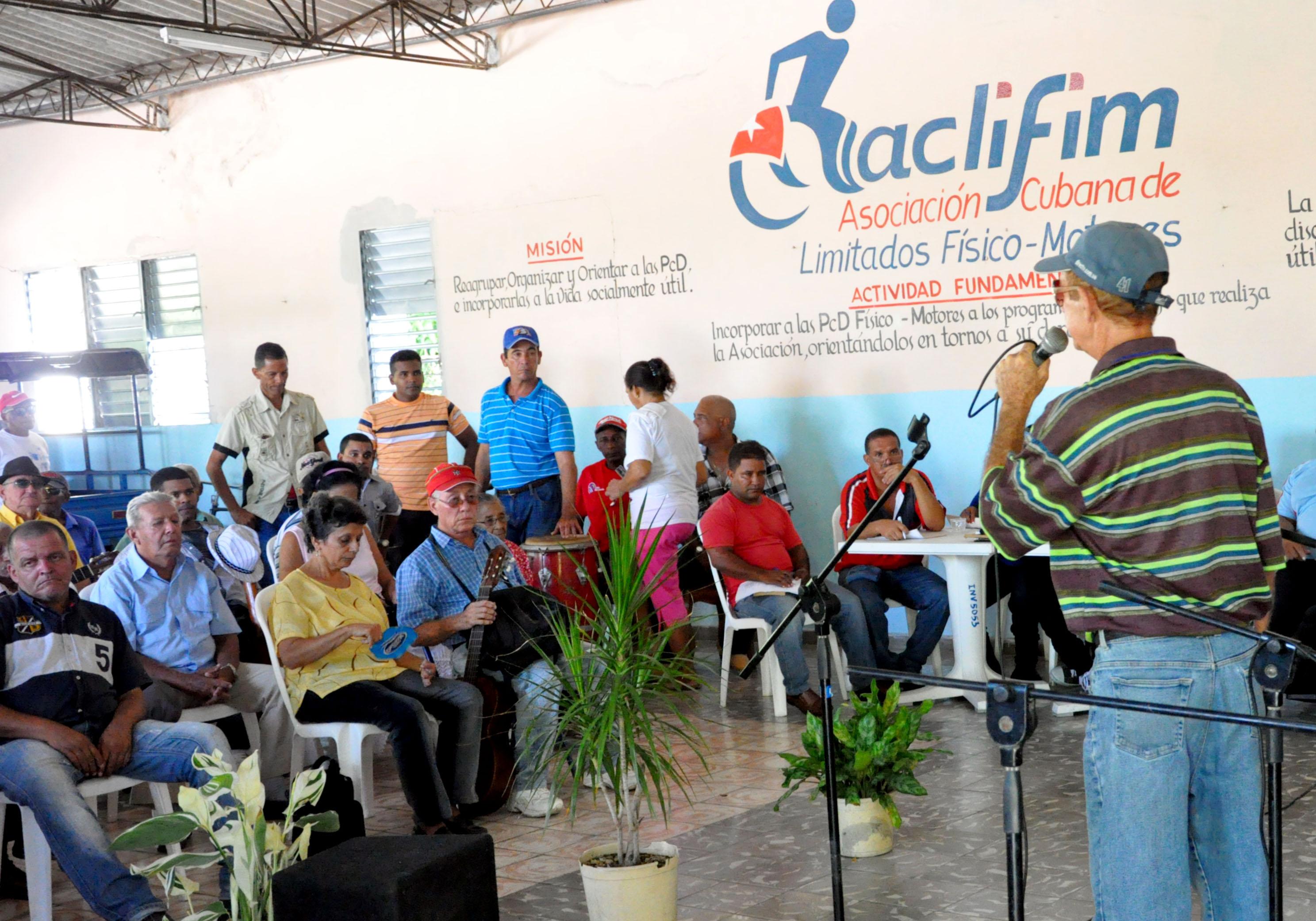 Desarrolla Cuba acciones por el Día Mundial de las Personas con Discapacidad