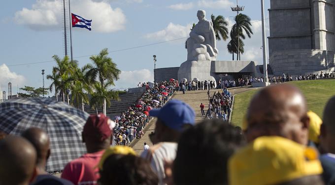 Hoy, acto de masas en homenaje póstumo al Comandante en Jefe de la Revolución Cubana