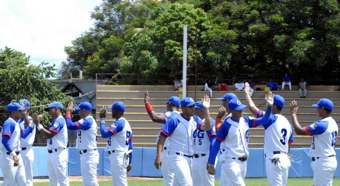 Equipo Granma de béisbol FOTO/ Luis Carlos Palacios