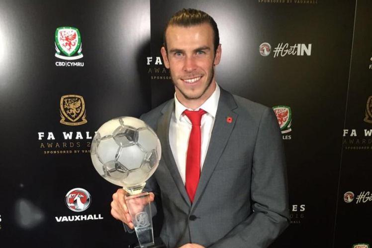 Gareth Bale es elegido Jugador Galés del año