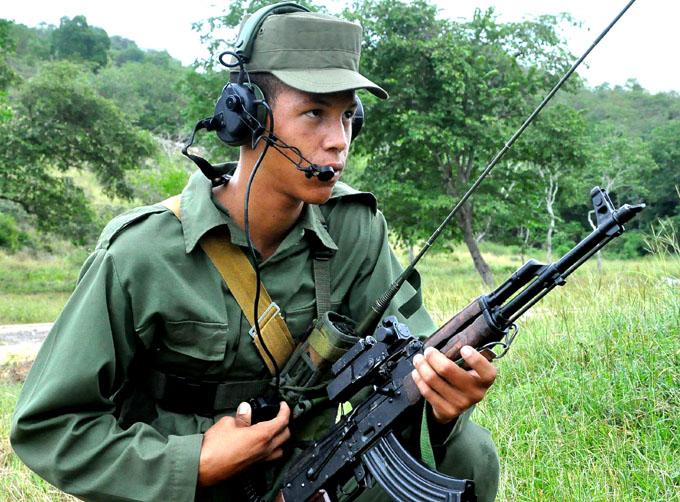 Cuba demostró estar bien preparada militarmente