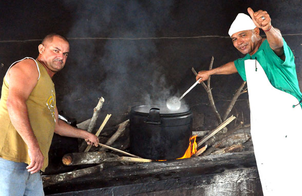 El sazón de Oscar y Rolando en Baracoa