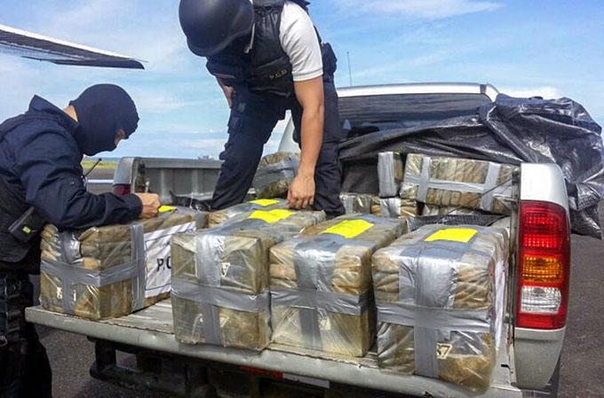 2016: año récord en decomiso de cocaína en Colombia