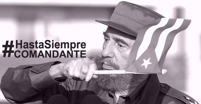 Comandante en Jefe Fidel Castro Ruz, Cuba