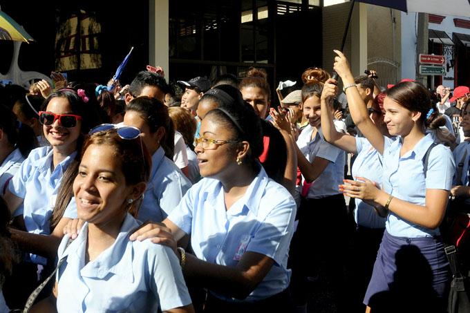 Cuba y sus jóvenes festejan el Día Internacional del Estudiante