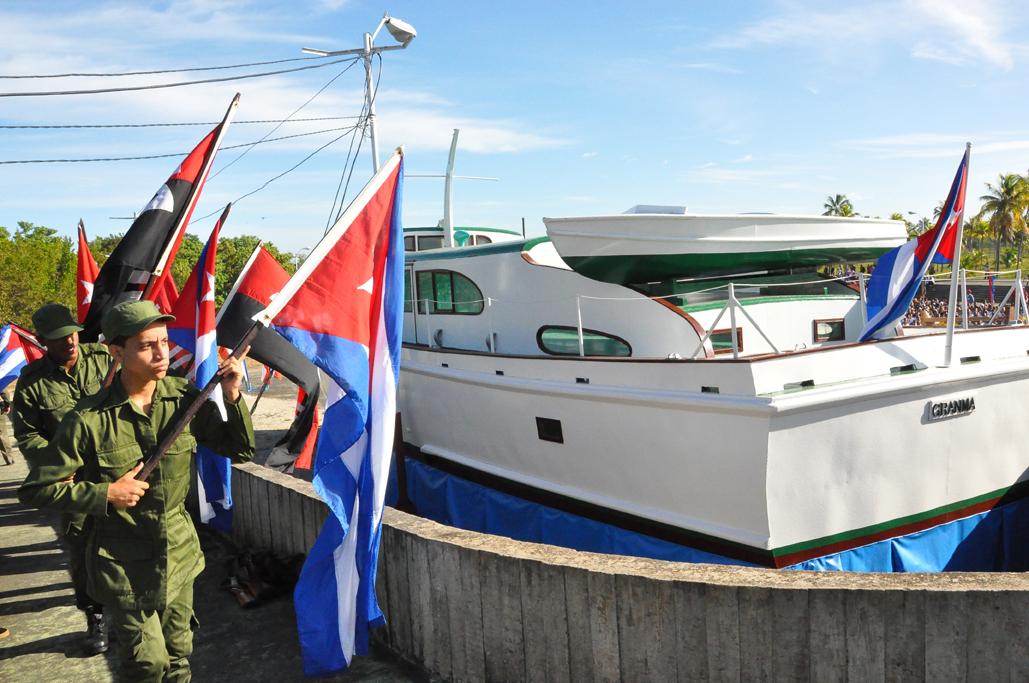 Rememorarán el desembarco del Granma, liderado por Fidel