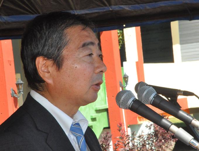 Masaru Watanabe, embajador de Japón en Cuba FOTO/Rafael Martínez Arias