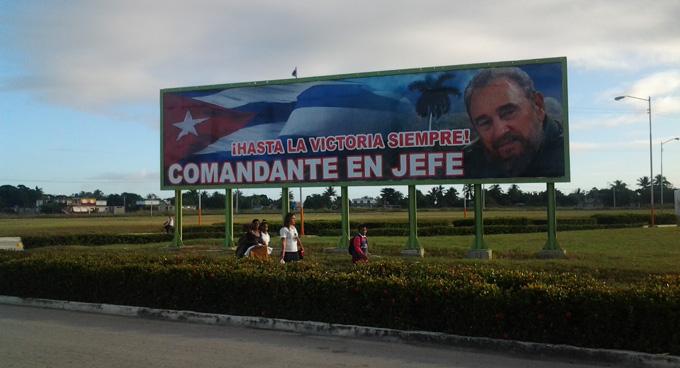 Fidel Castro, Bayamo Cuba