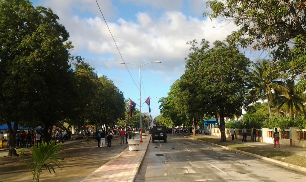 Fidel Castro, Plaza de la Patria, Bayamo  7