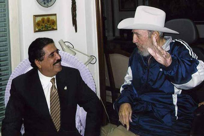 Fidel, el más grande revolucionario, afirma expresidente Zelaya