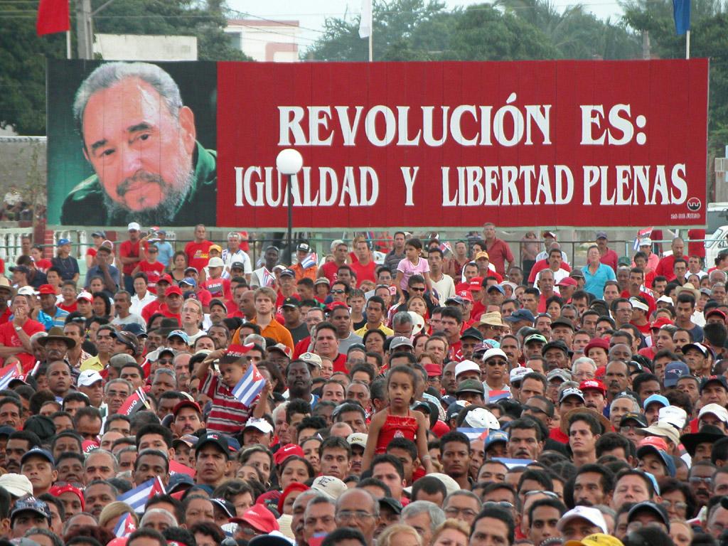 Fidel el 26 de Julio  en Bayamo, 2006 2