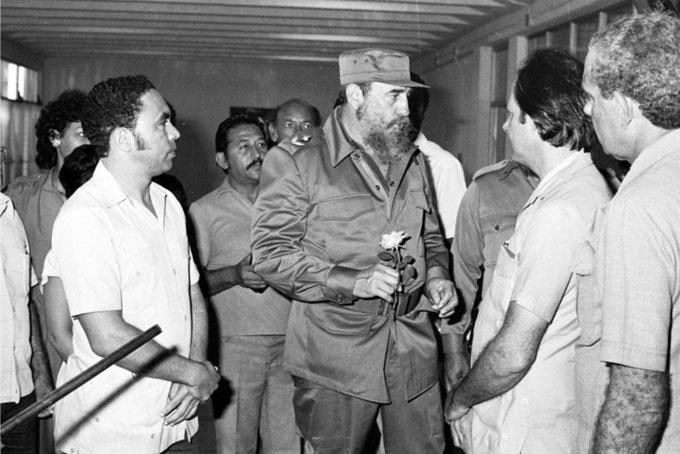 Junto a Fidel, recuerdos eternos