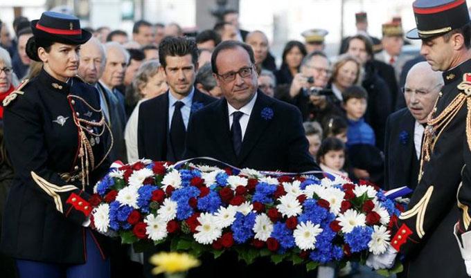 Francia recuerda el Armisticio que puso fin a Primera Guerra Mundial