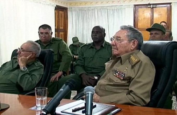 Preside Raúl Castro reunión del Consejo de Defensa Nacional