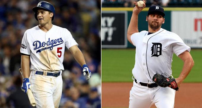 Fulmer y Seager, Novatos del Año en la MLB