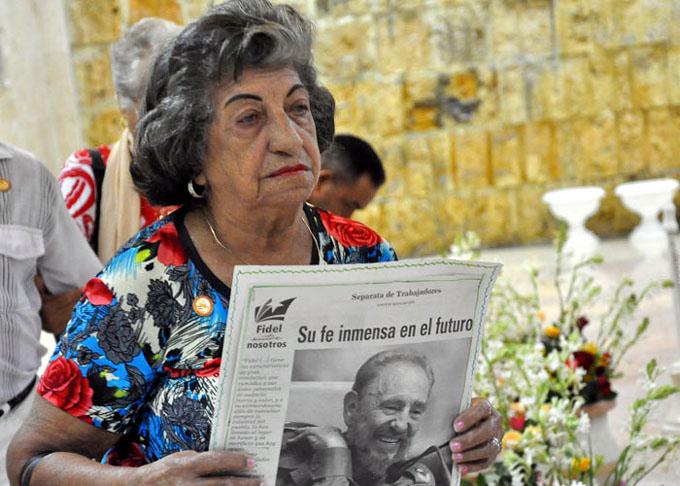 Los granmenses rendirán honores a Fidel