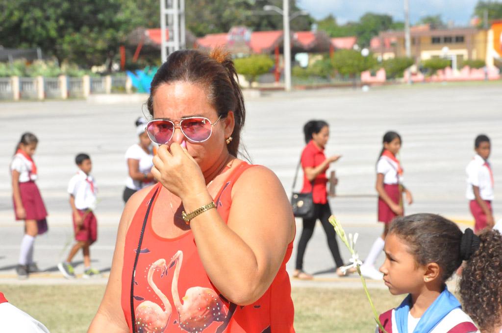 Homenaje a Fidel en Bayamo, Granma 2