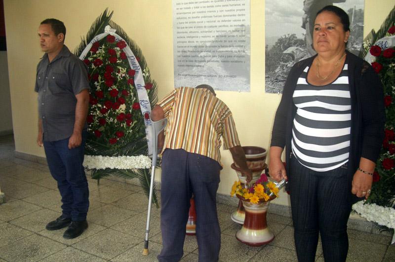 Homenaje a Fidel en Río Cauto 2