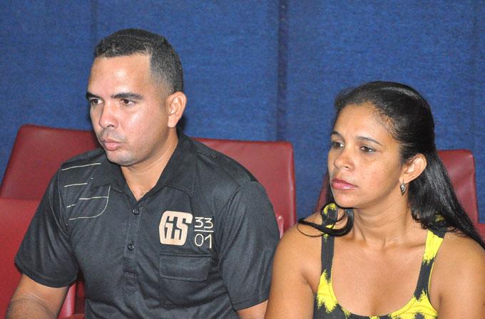 Liusmila Cantero Barbán y Yunier Rodríguez Vargas/ FOTO Rafael Martínez Arias