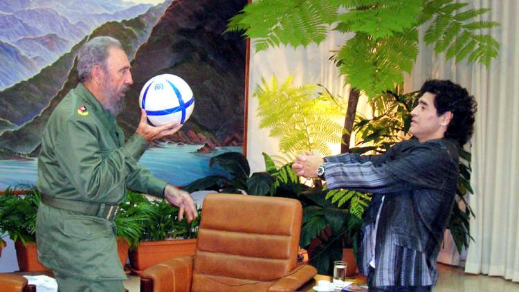 """Maradona, sobre Fidel Castro: """"Fue como un segundo padre"""" (+ video)"""